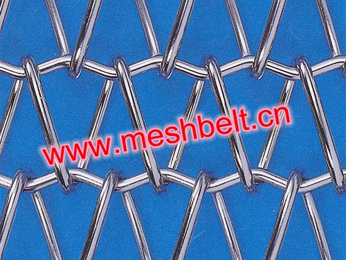 Balanced weave wire mesh belt