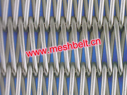 Rod reinforced wire conveyor belt
